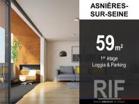 T3 de 59 m² avec loggia