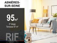 T5 de 95 m² avec terrasse de 97 m²