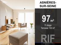 T5 de 97 m² avec terrasse de 100 m²