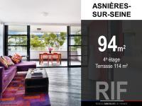 T5 de 94 m² avec terrasse de 114 m²