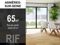 T3 de 65 m² avec jardin de 55 m²