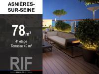T4 de 78 m² avec terrasse de 49 m²
