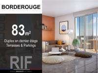 T4 de 83 m² avec terrasses et parkings