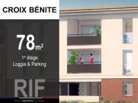 T4 de 78 m² avec loggia et parking