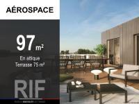 T4 de 97 m² avec terrasse de 75 m²