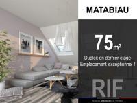 Duplex de 75 m² (93 m² en surface utile)