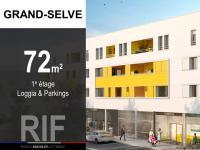 T4 de 72 m² avec loggia et parkings
