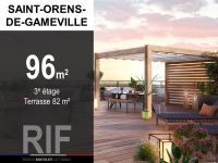 Appartement T4 de 96 m² avec terrasse de 82 m²