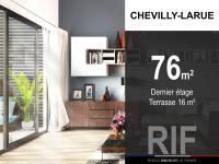 T4 de 76 m² avec terrasse de 16 m²