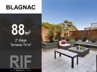 T4 de 88 m² avec terrasse de 74 m²