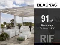 T5 de 91 m² avec terrasses