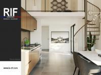 T5 de 102 m² avec terrasse et mezzanine