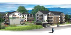 Appart neuf de type T3 de 64 m² à ALBENS